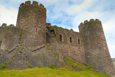 South towers, Conwy castle
