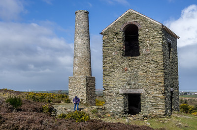 Copper mines near Amlwch, north Angelsey.  Largest copper mine in the world in 1700's. Now closed.