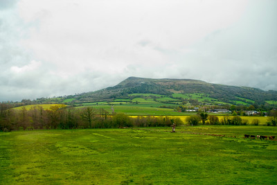 Southeastern Wales countryside