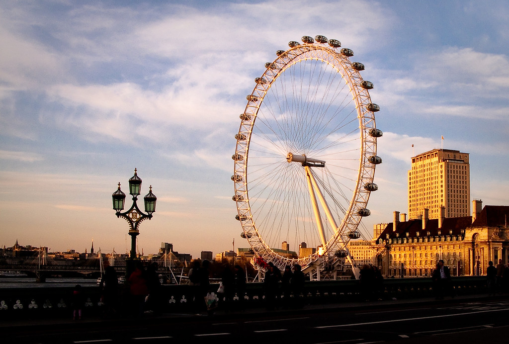 London Eye- Sunset