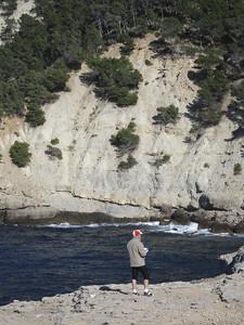 Sea cliffs on west coast