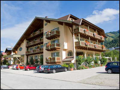 Our hotel at Kaprun near Zell am Zee
