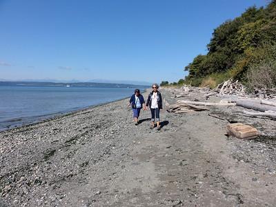 Denyse and Joyce on the Beach