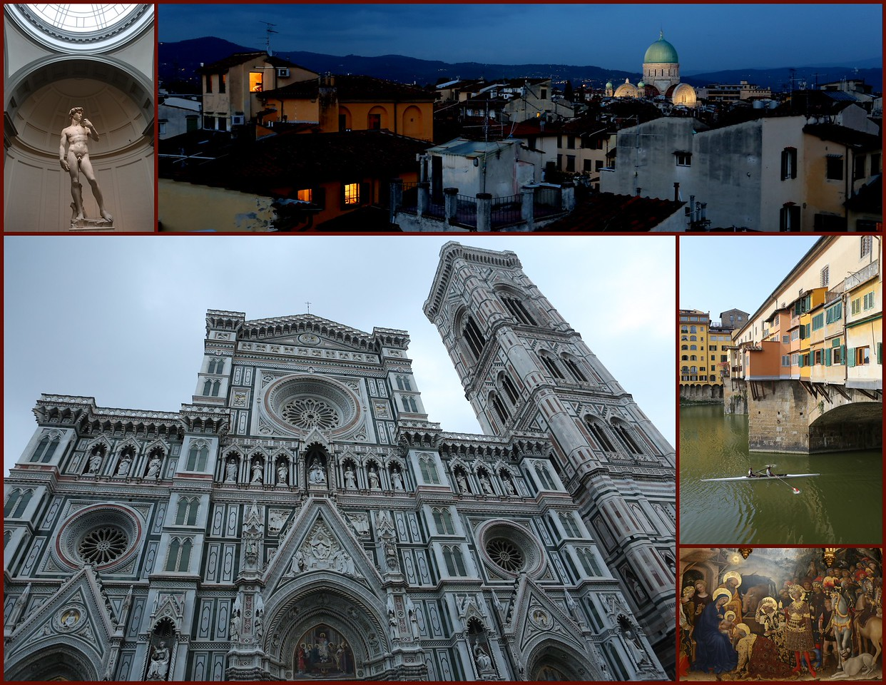 """Beautiful Florence -""""inside and outside""""."""