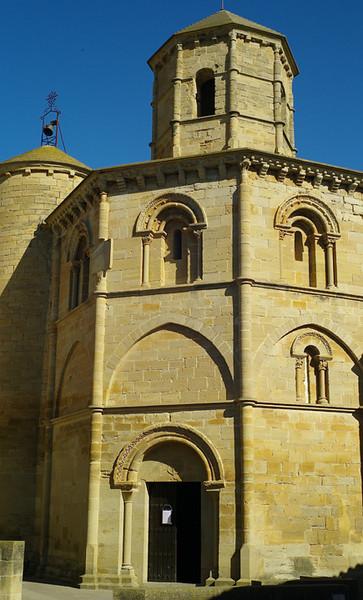 Found this tiny octagonal Templar church in a mountain village.