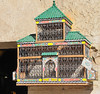 Wouldn't have been so comfy in this Moorish bird cage......