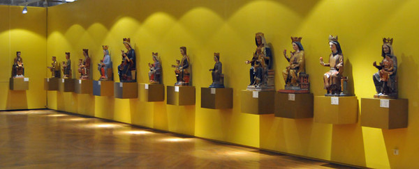 What do you call a collection of madonnas? A Magnificat maybe?