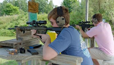 Shooting – Charlevoix Rod & Gun Club – Jack & Will (2)