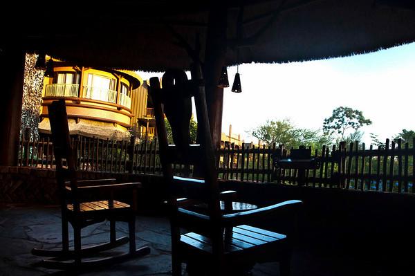 lobby viewing veranda chairs dawn