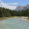Glacial stream running through Kootenay National Park