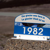 The Athabasca Glacier was here in 1982