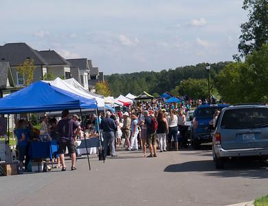 The Pepper Festival in suburbian NC