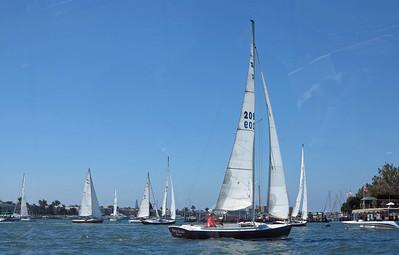 A fine day in Newport Harbor