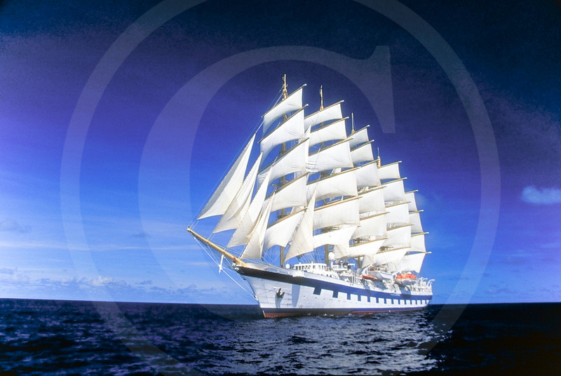 Royal Clipper, trans-Atlantic voyage.