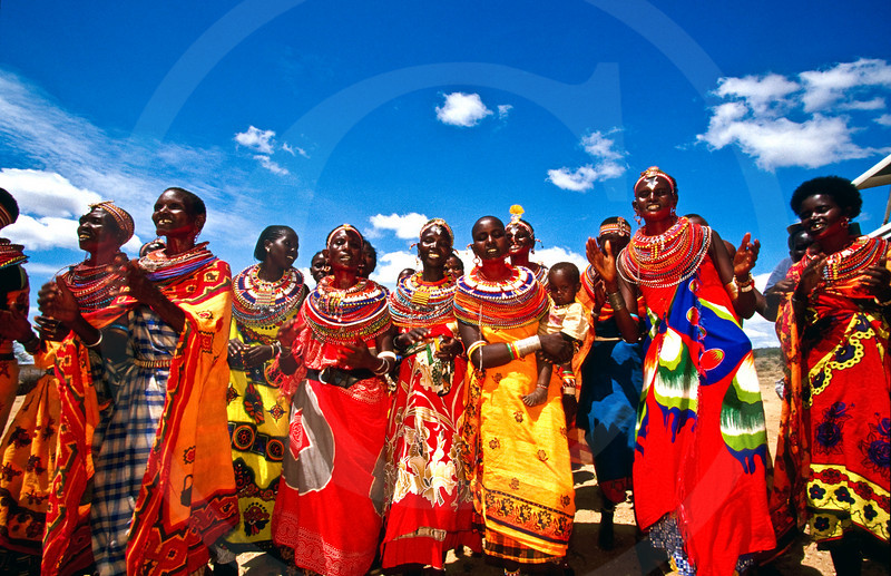 Samburu women, Kenya, East Africa