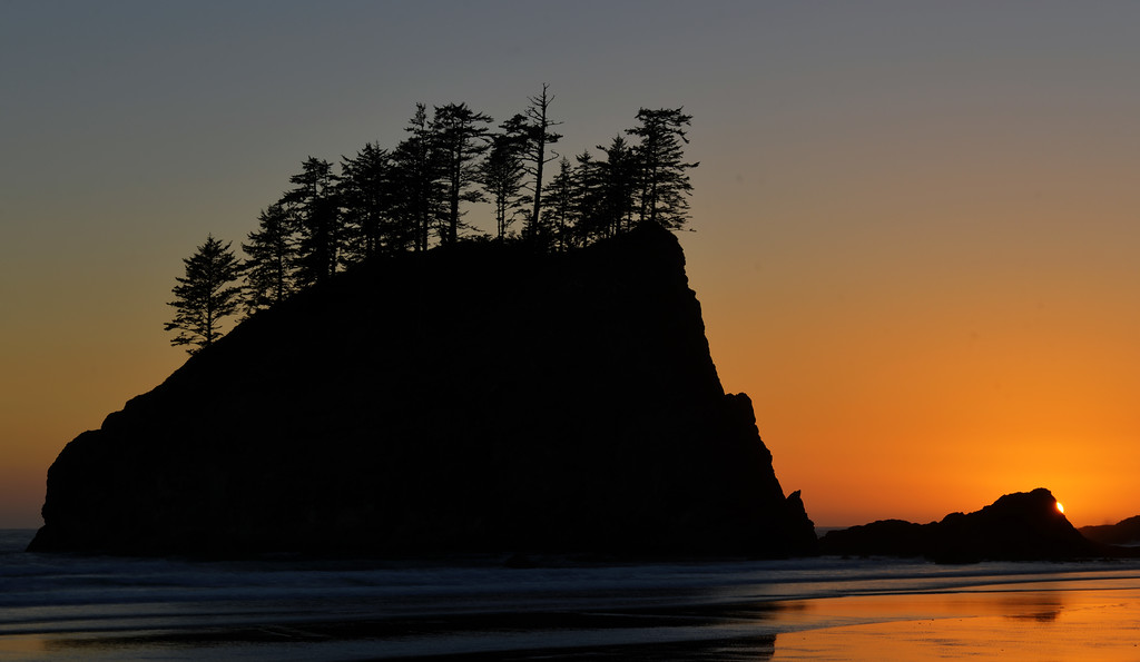 Sunset at Second Beach, La Push