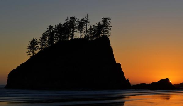 Sunset at Second Beach, La Push