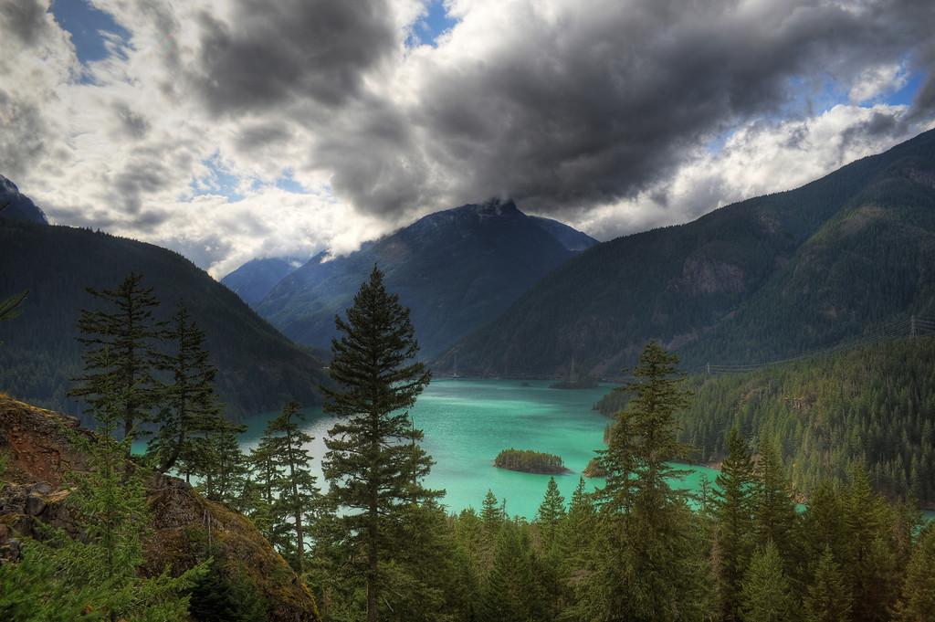 Ross Lake Pano