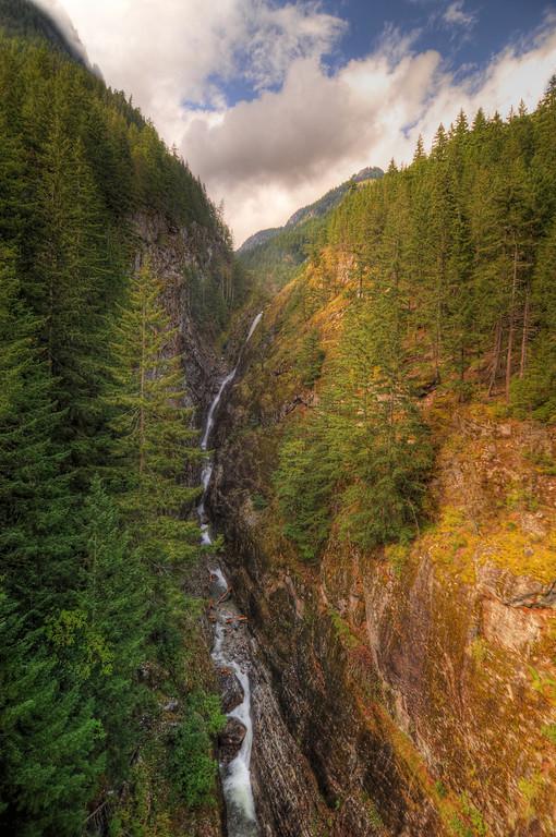 Newhalem Waterfall