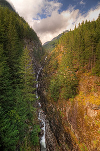 Newhalem Waterfall