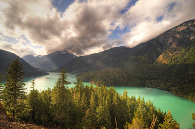 Ross Lake Clouds