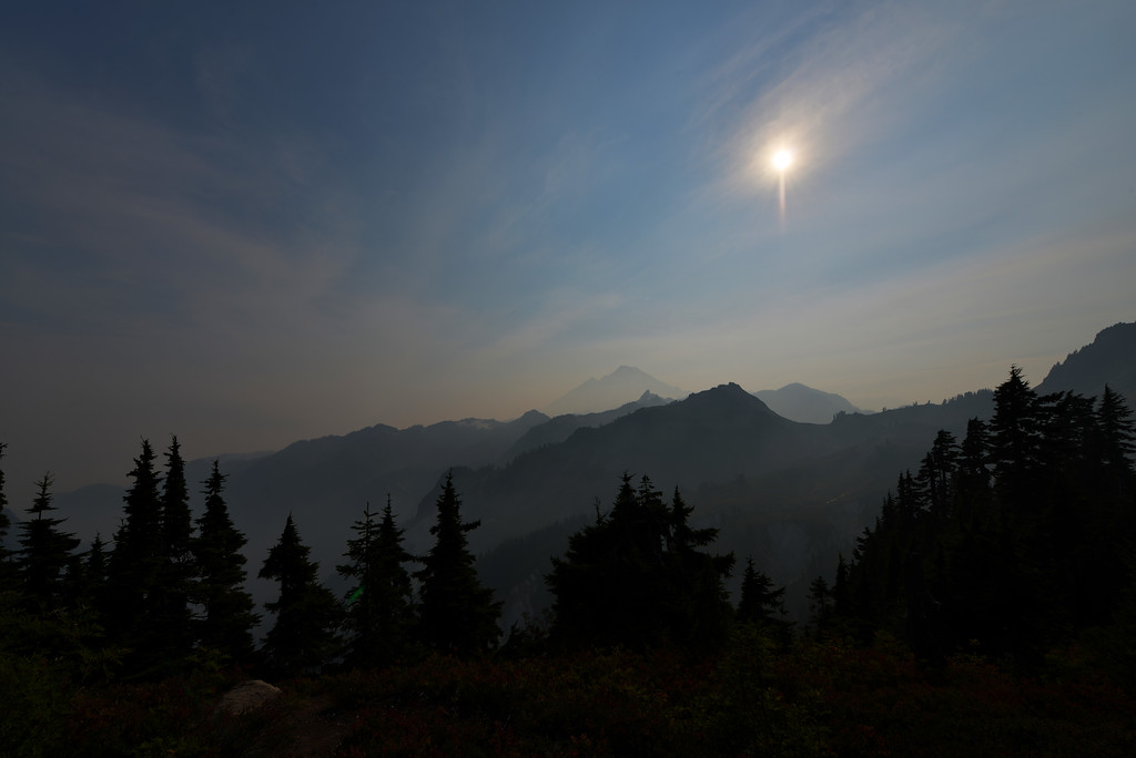 Haze over Artist Point
