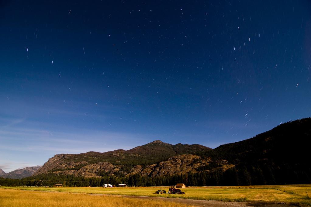 Mazama Night, North Cascades