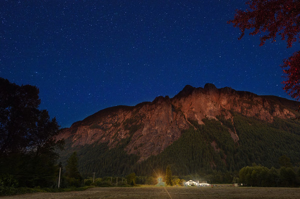 Mount Si, Day into Night