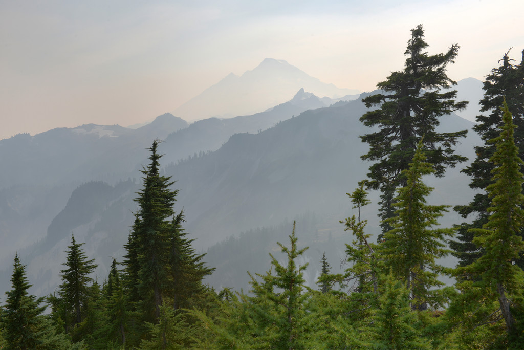 Smoky Mount Baker from Artist Point