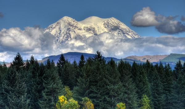 Mount Rainier from Eatonville