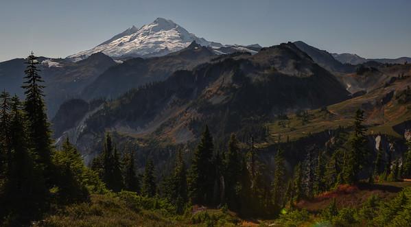 Mount Baker autumn