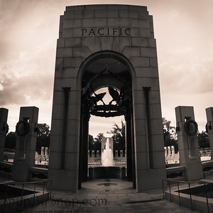 The Pacific Pavilion of the World War II memorial