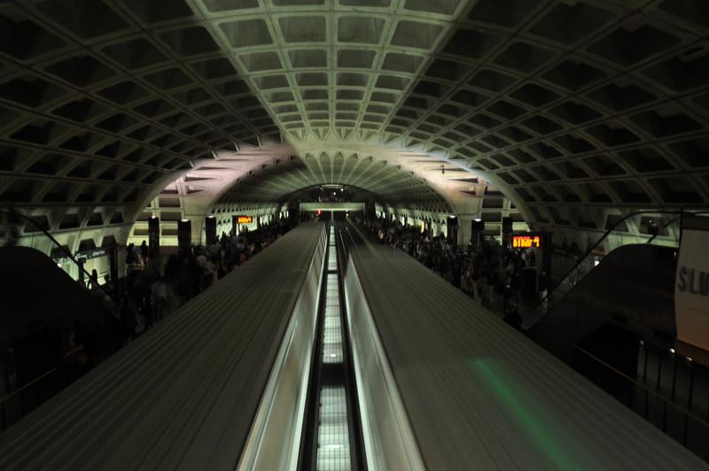 The DC Metro is very photogenic