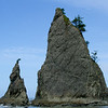I say that these are Rialto Beach, but they are probably Second Beach.  Maybe.