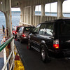 Riding the ferry to the Olympic Peninsula