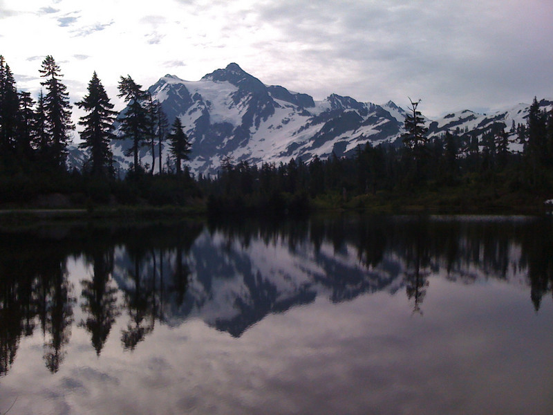 "Mount Shuksan<br />  <a href=""http://en.wikipedia.org/wiki/Mount_Shuksan"">http://en.wikipedia.org/wiki/Mount_Shuksan</a><br /> and its glaciers"