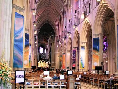 Washington National Cathedral in Washington D. C.