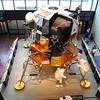 The Apollo moon lander. I like how astronauts walk around.