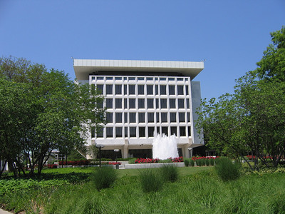 The Martin building, which offices some of the employees of the Federal Reserve.