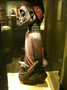 From the old palace at Idanre. Smithsonian Museum of African Art.