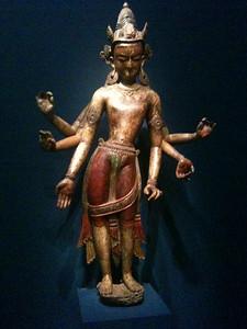 Bodhisattva White Avalokiteschvara. Nepal 14th c. Freer.