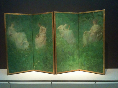 The Four Sylvan Sounds. Dewing. 1896-97. Freer.