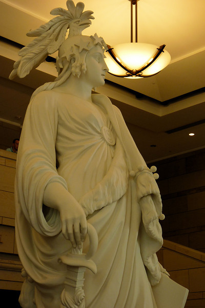Statue of Freedom, in the Capitol
