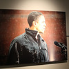 Great photo of Obama on the campaign trail.  Newseum.