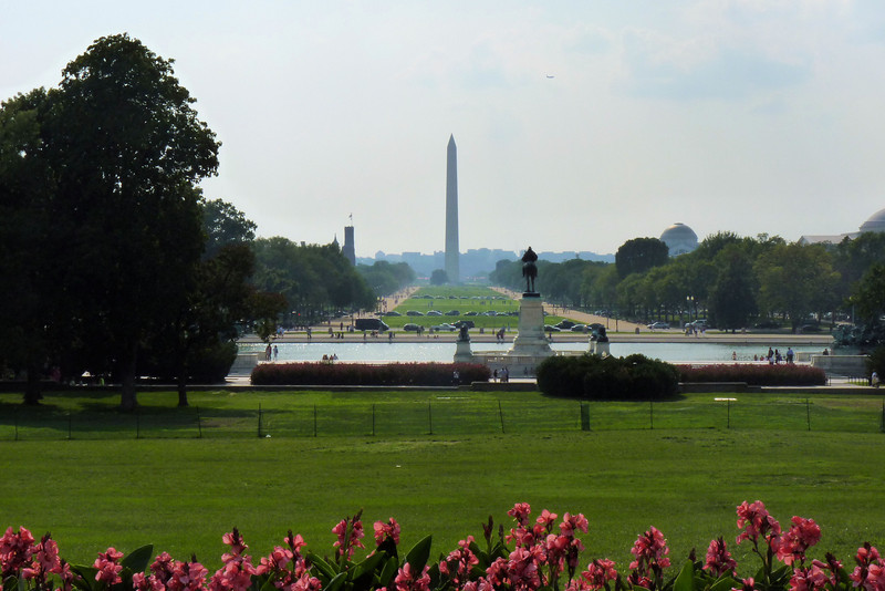 View to the Washington Monument, from the Capitol