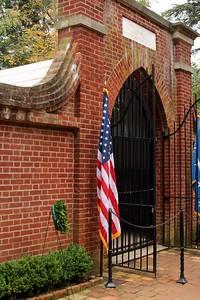 George Washington's Tomb at Mount Vernon.