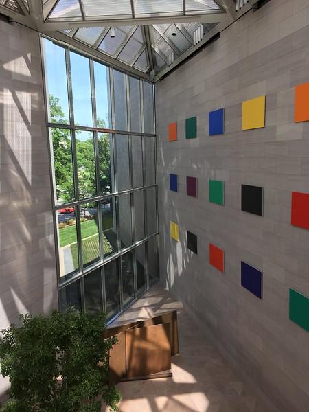 National Gallery, East Building: Ellsworth Kelly