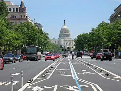 The Capitol from Pennsylvania Ave