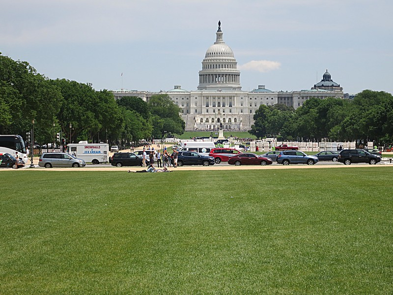 Capitol Building from the Mall