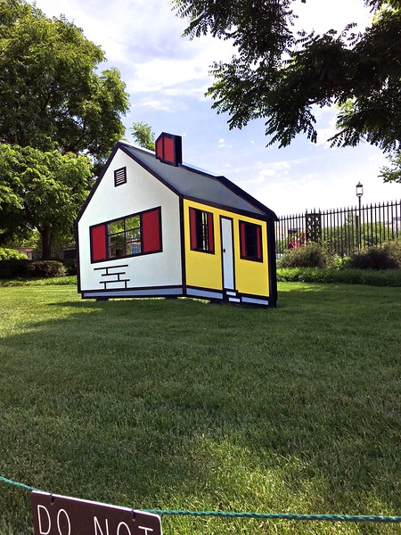 Roy Lichtenstein,  House I, 1996-98.